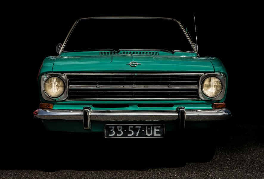 Opel kadett 1972 van marco de Jonge