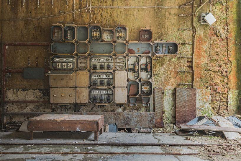 Industriële Meterkast van Perry Wiertz