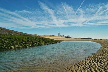Vergezicht vanaf het Strand van Vlissingen von DoDiLa Foto's