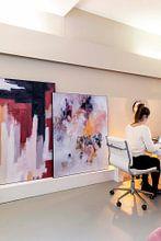 Kundenfoto: Purple Clouds von Maria Kitano, als akustikbild