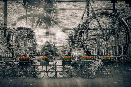 AMSTERDAM Fahrräder-Nostalgie