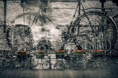 AMSTERDAM Fietsen-nostalgie van Melanie Viola