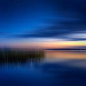 Sonnenuntergang am See von Melanie Viola