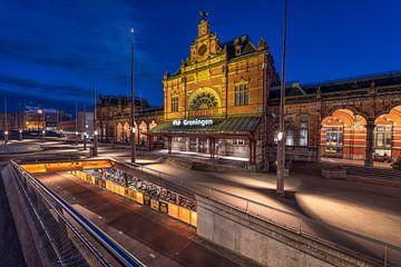 Bahnhof Groningen von Peter Korevaar