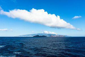 Wolk boven Madeira van