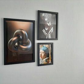 Kundenfoto:  Escher Trefoil Knoten von Chrisjan Peterse, als poster