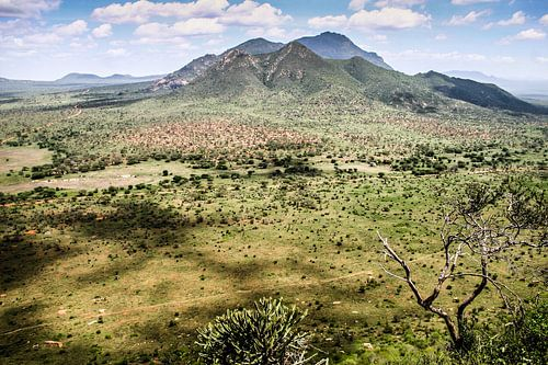 Keniaans uitzicht van
