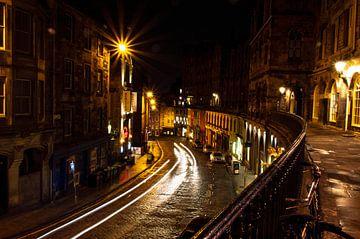 Victoria Straße - Edinburgh von Yvette van der Graaf
