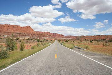 Weg in Utah von Anouk Davidse