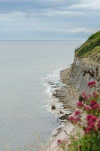 Küstenlinie der Normandie