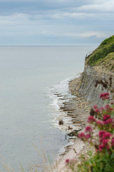 Küstenlinie der Normandie von Mark Bolijn