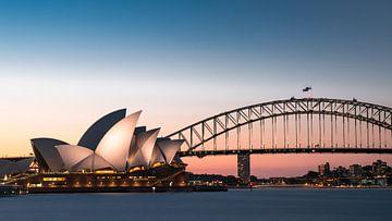 Gute Nacht Australien von Maarten Mensink