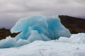 Blauwe IJsberg van Stephan van Krimpen