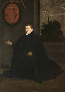 Porträt von Cristóbal Suárez de Ribera, Diego Velázquez