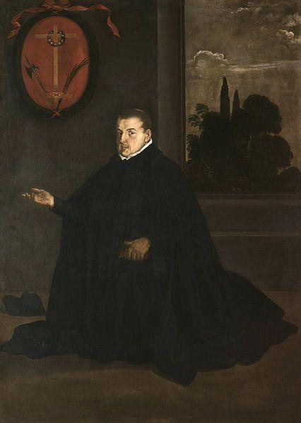 Porträt von Cristóbal Suárez de Ribera, Diego Velázquez von Meesterlijcke Meesters