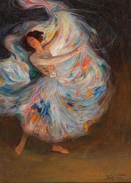 Eine Tänzerin von Antonije Lazovic