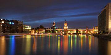 Berlin Oberbaumbrücke von Frank Herrmann