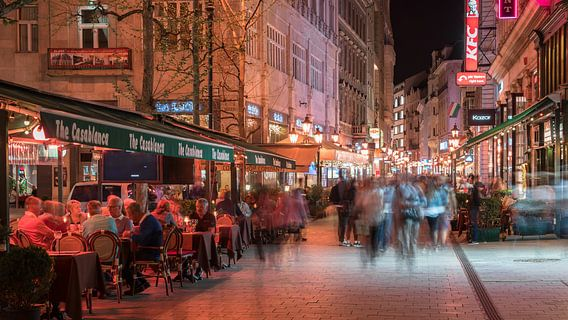 Downtown Budapest van Scott McQuaide