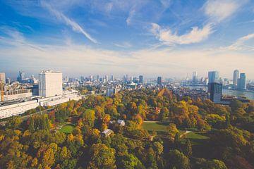 Skyline Rotterdam Herfst sur