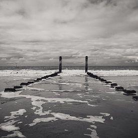 Een mooi uitzicht op zee van Stedom Fotografie