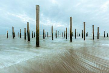 Het Palendorp op het strand van Petten van Sander Groffen