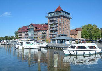 Stadthafen von Neustrelitz,Mecklenburgische Seenplatte von Peter Eckert