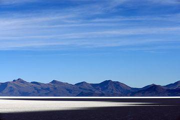 Sunset Salar de Uyuni van Maarten Heijkoop