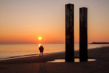 Zonsondergang Vlissingen von Rob Altena