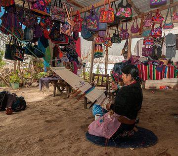 Mexico: Weefster (San Cristóbal de Las Casas) van Maarten Verhees