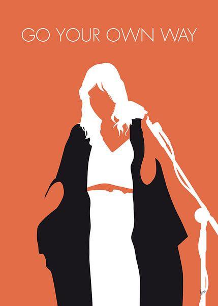 No303 MY Fleetwood Mac Minimal Music poster van Chungkong Art