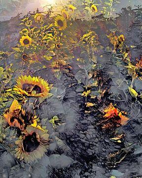 Sonnenblumen von Mario Dekker