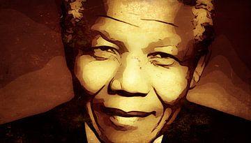 Nelson Mandela van Yolanda Bruggeman