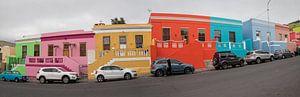 Gekleurde huisjes van Bo Kaap van
