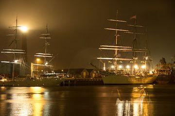 Tall ship Statsraad Lehmkuhl  van Patrick Kerkhoff