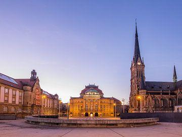Theaterplatz, Chemnitz von Sergej Nickel