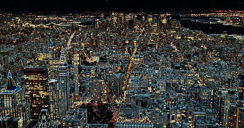 Schwarz New York von Alex Hiemstra