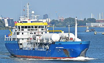 LPG tanker Sefarina van Piet Kooistra