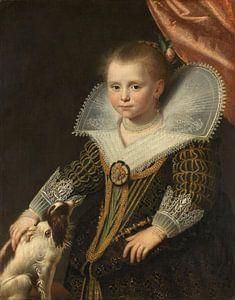 Het prinsesje, Paulus Moreelse