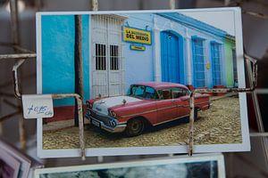 Cuba Oldtimer card van