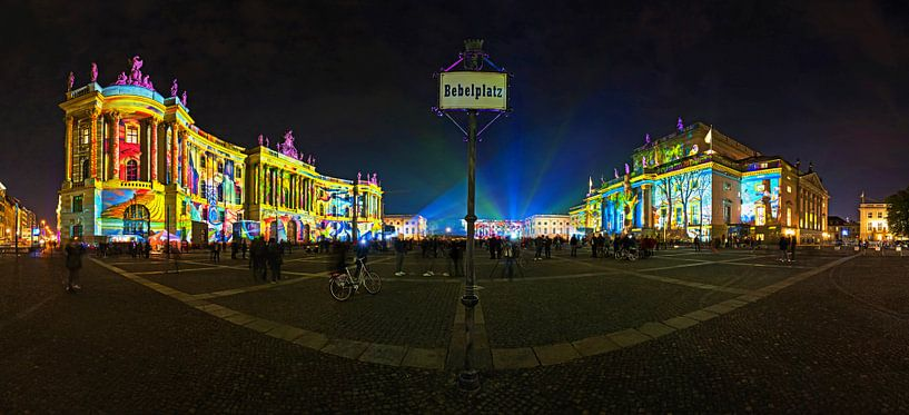 Bebelplatz Berlijn van Frank Herrmann