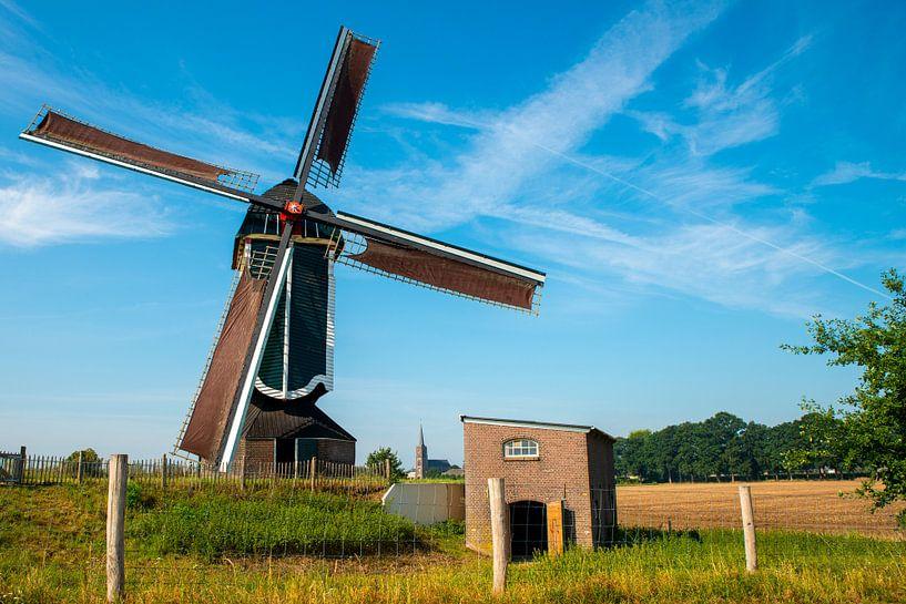 Vreugde bij de molen van Batenburg van Everyday photos by Renske