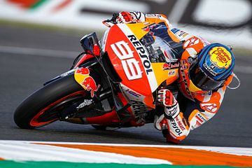 Jorge Lorenzo/MotoGP Valencia van Marco Dek