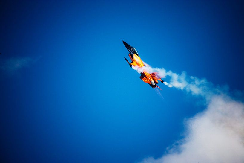 Stalling F16 sur Ton C Kroon
