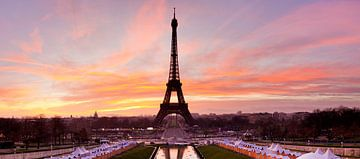 Eiffelturm bei Sonnenaufgang, Paris, von Markus Lange
