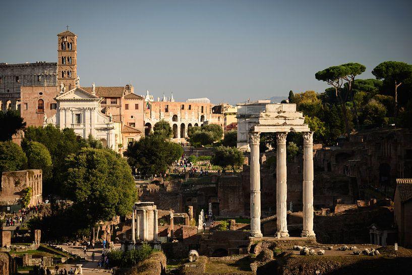 Forum Romanum and Colosseum sur Sjoerd Mouissie