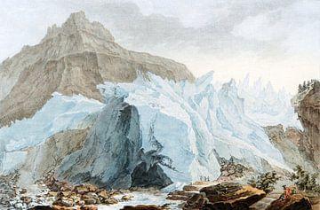 Gletscher, Jean-François Janinet und Caspar Wolf, 1780 - 1781 von Atelier Liesjes