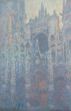 De Kathedraal van Rouen door Claude Monet