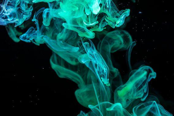 Azuurblauwe kronkels van Steven Langewouters
