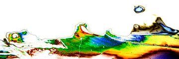 Microkristallen van wijnsteenzuur in gepolariseerd licht van 3QuarksMedia