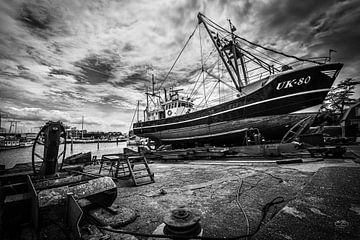 Kutter-Werft Urk von Martien Hoogebeen Fotografie